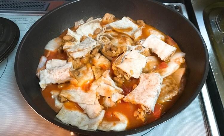 ブリトー(トマト煮)