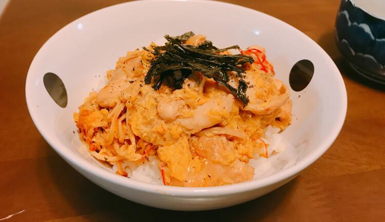 もろみチキン(親子丼)