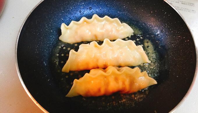 キムチ王餃子(焼き上げ)