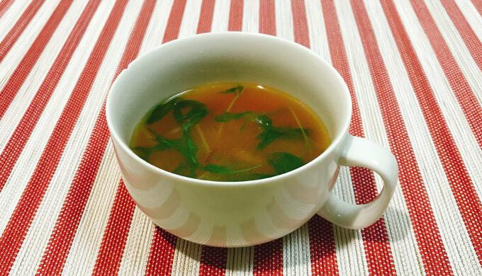 フライドオニオン(スープ)