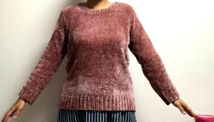 ORVISセーター(着用)